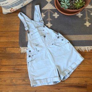 Vintage 90s Denim Overall Shorts